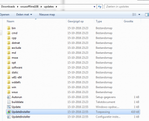 wsusoffline update installer